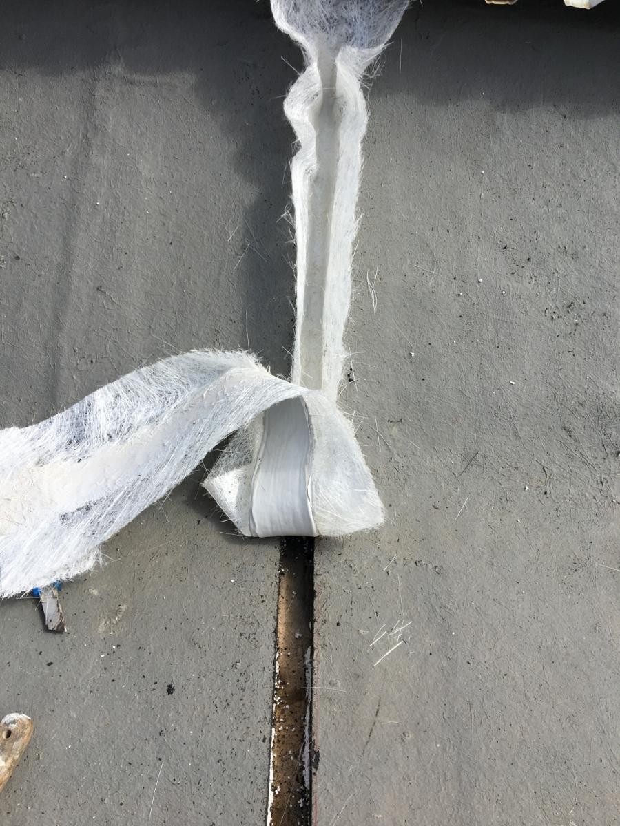 realizzazione di giunto strutturale preformato anche in verticale