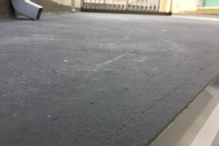 impermeabilizzazione terrazzo con Cemenguaina con innesto di due giunti tecnici strutturali