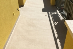 Pràtika  la resina per esterno su cemenguaina ripristino pavimento  esistente effetto stonalizzato  progetto romagnaresine