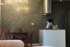Rivestimento in resina con ciclo matèrika,decoresina Floor, e decoresina effetti  esclusivi creati per il cliente progetto Romagnaresine